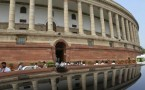 India's parliament building