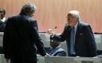 Sepp Blatter (R)