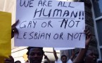 Human Rights Activists Protest