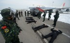 Anti-hijacking Drill At Beijing Capital International Airport