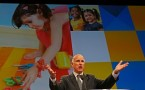 Jerry Brown speaks during the American Federation of Teachers