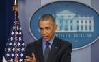 President Obama Holds Press Conference At White House