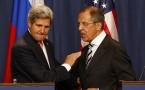Secretary of State John Kerry & Russian Foreign Mininster Sergei Lavrov