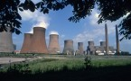 Rugeley coal fired power station Staffordshire UK