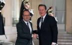 British Prime Minster David Cameron Meets President Hollande Ahead Of EU Meetings