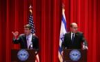 Ash Carter And Israeli Defense Secretary Ya'alon Speak At Nat'l Defense University