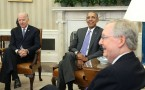 Obama Meets With Senate Judiciary Cmte Members To Discuss Supreme Ct Vacancy