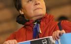 Demonstrators Protest Putin Visit