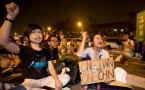 Protests In Taipei During China-Taiwan Summit Meeting