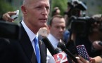 Florida Gov. Rick Scott Addresses Media After Meeting With HHS Chief Burwel