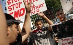 Activists Protest Yemeni And Syrian Government Violence Against Civilians