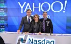 Yahoo! Inc. Celebrates 20 Years & Rings The Nasdaq Stock Market Opening Bell