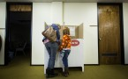 Voters In Super Tuesday States Cast Their Ballots