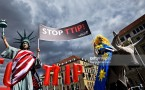 Anti-TTIP Protests On Eve Of Obama Visit