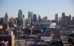A panoramic view of Kansas City, Missouri, USA