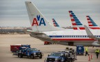 American Airlines Planes at O'Hare