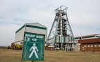 South Africa's New Mining Minister Mosebenzi Zwane Visits Harmony Gold Mining Co. Plant