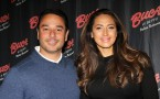 Amber Marchese & Family Visit Buca di Beppo Times Sqaure