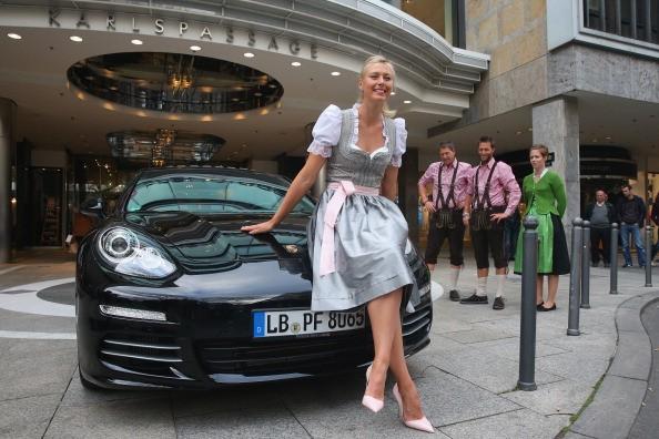 Maria Sharapova -Porsche Tennis Grand Prix 2014