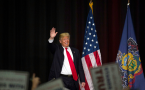 Donald Trump Holds Campaign Rally In Pennsylvania Ahead Of State Primary