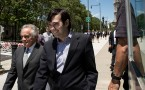 Pharmaceutical CEO Martin Shkreli Returns To Court On New Conspiracy Charge.
