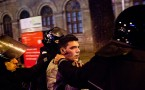 Protesters Clash With Police in Bucharest