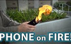 Samsung Note 7 on Fire