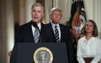 Judge Neil Gorsuch at the White House during nomination as Supreme Court Judge.