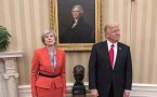 Donald Trump Meets With British PM Theresa May At The White House