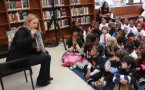 Chelsea Clinton Story Time Reading At Brooklyn Public Library