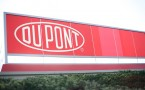 Entrance in the DuPont headquarters in Wilmington, Delaware.