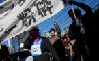 'Unpopular' Japanese Protest Against Valentine's Day