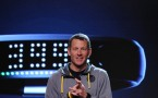 Lance Armstrong at Nike's Unveiling of the Nike Fuel