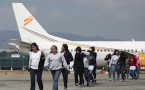 Deported Guatemalan Immigrants Arrive On ICE Flight from U.S