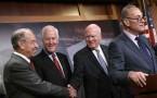 Bipartisan Group Of Senators Discuss Criminal Justice Reform
