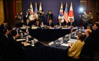South Korea Meets U.S. And Japan Amid Tension With North