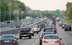 Traffic On Freeway, Washington, USA