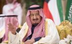 Saudi Arabia's king Salman bin Abdulaziz Al Saud in Kuwait