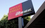 The logo of Wells Fargo outside its Home Mortgage branch office in San Fransisco, California.