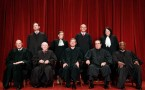 Members of the U.S. Supreme Court take picture on Sept. 29, 2009.
