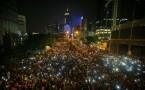 Hong Kong pro-democracy protesters