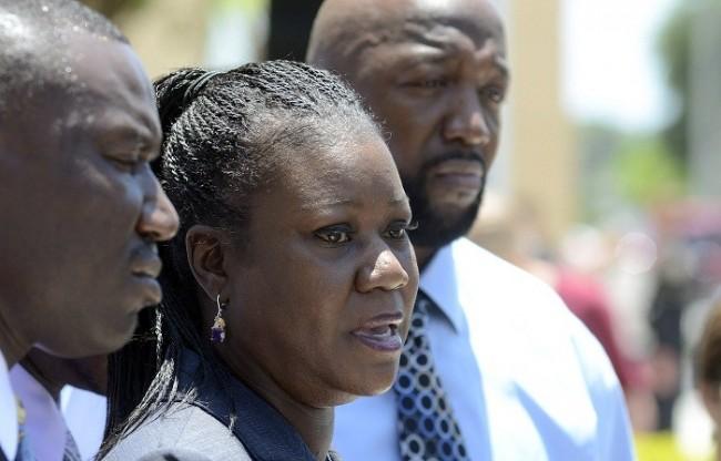 Sabrina Fulton and Tracy Martin, parents of the late Trayvon Martin,