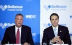NY Mayor Bill de Blasio and Governor Andrew Cuomo