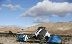 SpaceShipTwo crash site