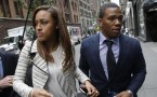Ray Rice and his wife Janay