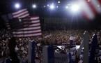 Crowd gathers before Debate